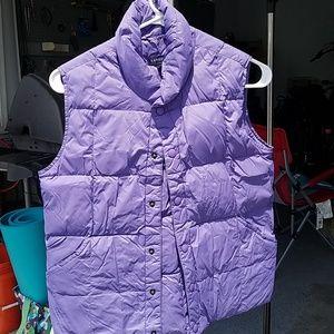 Girls Lands' End Puffer Vest
